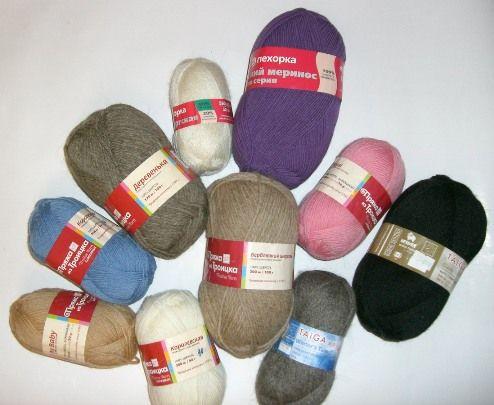 Лучшая пряжа для вязания шапок спицами